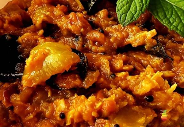 Green Tomato Curry (Kootu)