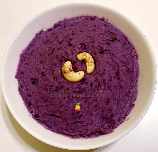 Purple Yam Pudding
